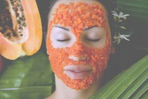Маска с ферментом папайи — очищение кожи