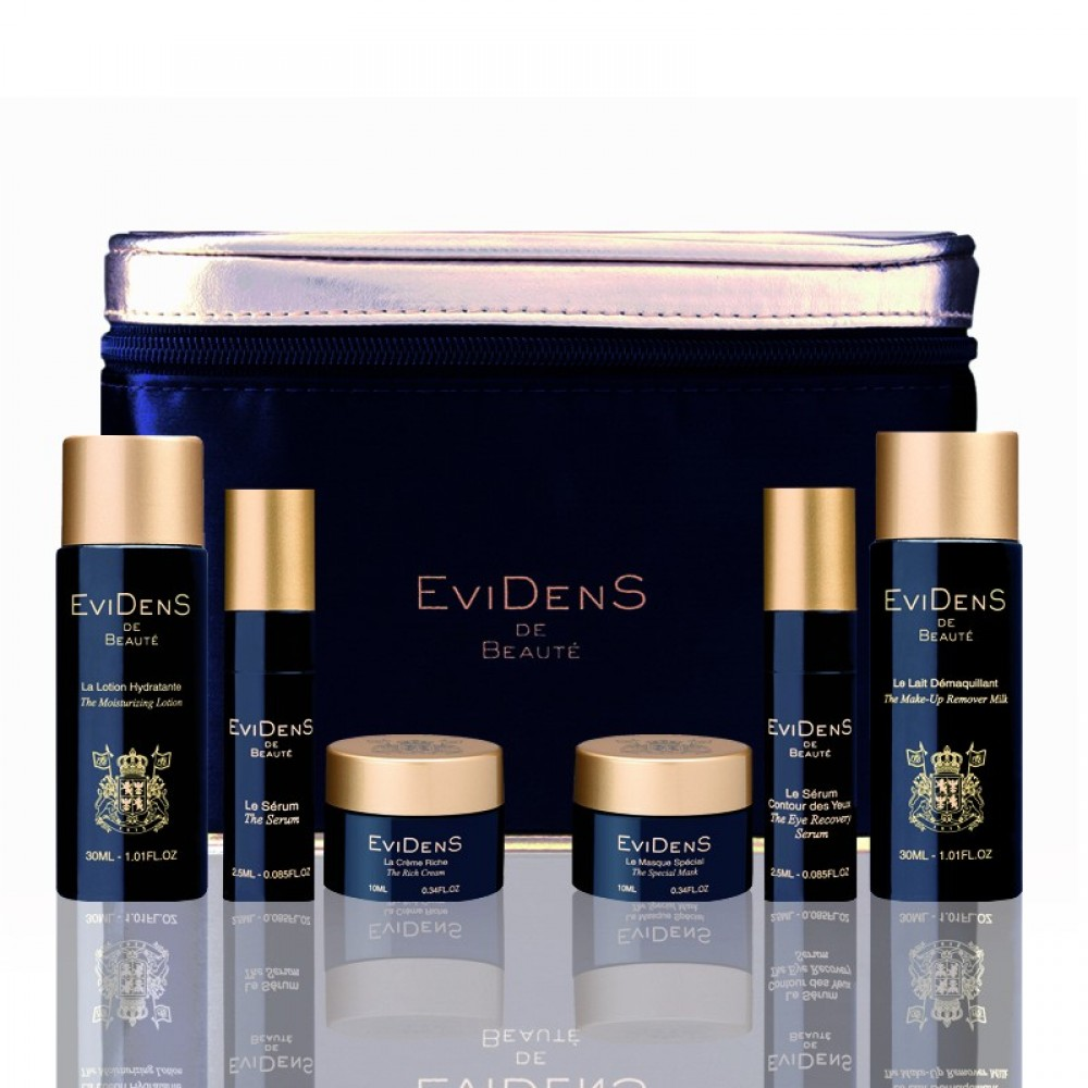 THE GLOBAL ANTI-AGING TRAVEL KIT (6 едениц)