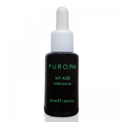 Антивозрастное масло-энергетик для зрелой кожи 30 мл PUROPHI