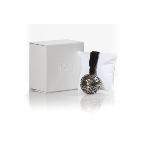 Perle A Porter Silver Swarovski Pendant / жемчужина с камнями, твердые духи